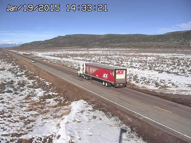 Wild Horse Mesa, Hwy 159, ACE Hardware truck