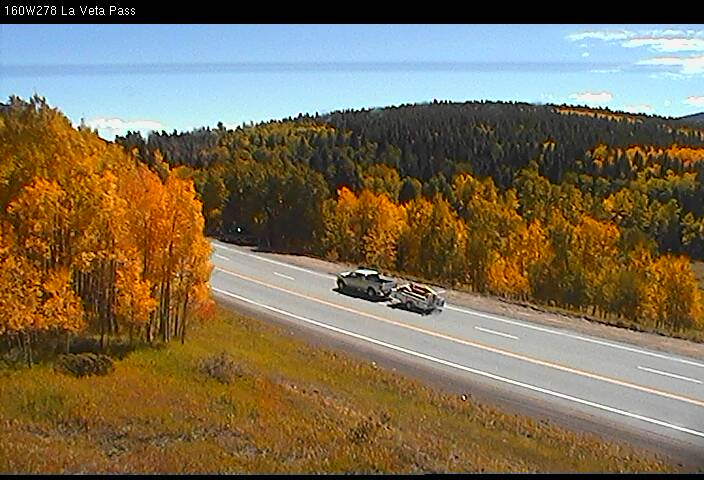La Veta Pass, Hwy 160, fall foliage