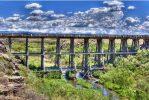 Blanca, Rattlesnake Trestle, San Luis Valley Southern Railway